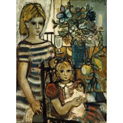 Huile sur toile, 92 cm X 73 cm, 1962