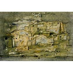 Encre lavis, 51 cm X 33 cm, 1974