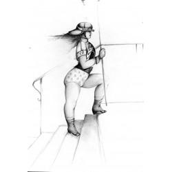 Encre et crayon, 65 cm X 50 cm, 1985
