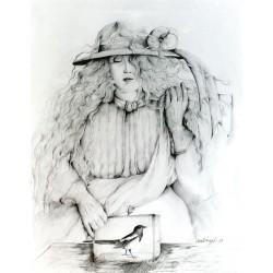 Crayon, 65 cm X 50 cm, 1977