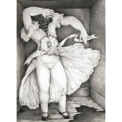 Encre et crayon, 65 cm X 50 cm, 1988
