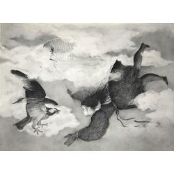 Encre et crayon, 65 cm X 50 cm, 1982