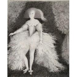 Encre et crayon, 32,5 cm X 25 cm, 1999