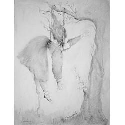 Crayon, 50 cm X 32,5 cm, 1985