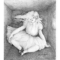 Encre et crayon, 32,5 cm X 25 cm, 1978