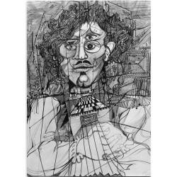 Encre, 65 cm X 50 cm, 1973