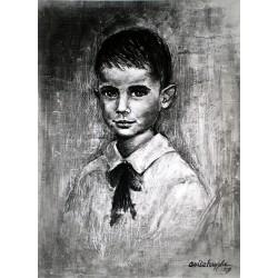 Huile sur toile 55 cm X 46 cm, 1959