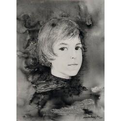 Encre et crayon 30 cm X 20 cm, 1966