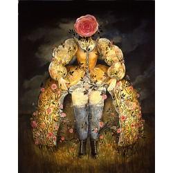 Huile sur toile, 146 cm X 97 cm, 1988