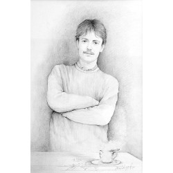 Crayon 65 cm X 50 cm, 1985