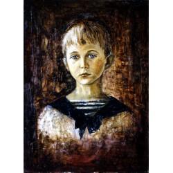 Huile sur toile 55 cm X 33 cm, 1968