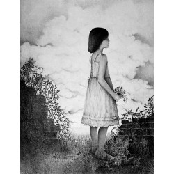 Encre et crayon 65 cm X 50 cm, 1980