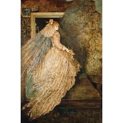 Huile sur toile, 130 cm X 97 cm, 1990